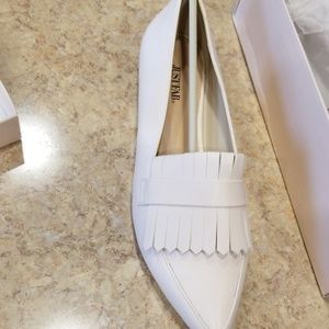 Justfab Loafers. New In Box. Never Worn